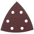Bosch SDTR040 40-Grit Red Detail Triangular Hook and Loop Sanding Sheets (5-Pack)