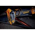 Dewalt DCG416B 20V MAX Brushless Lithium-Ion 4-1/2 in. - 5 in. Cordless Paddle Switch Angle Grinder with FLEXVOLT ADVANTAGE (Tool Only) image number 9