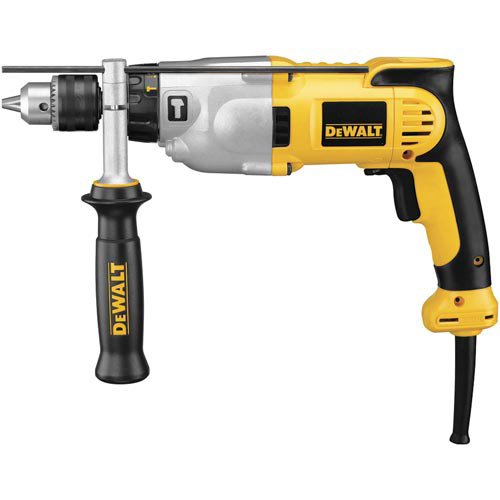 Dewalt DWD520K 10 Amp 1/2 in. VSR Pistol Grip Hammer Drill Kit