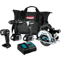 Makita CX401SYB 18V LXT Brushless Lithium-Ion Sub-Compact 4-Tool Cordless Combo Kit (1.5 Ah) image number 0