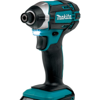 Factory Reconditioned Makita CT225R-R LXT 18V 2.0 Ah Cordless Lithium-Ion Compact Impact Driver and 1/2 in. Drill Driver Combo Kit image number 2