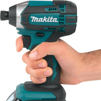 Factory Reconditioned Makita XDT111-R 18V LXT 3.0 Ah Cordless Lithium-Ion 1/4 in. Hex Impact Driver Kit image number 4