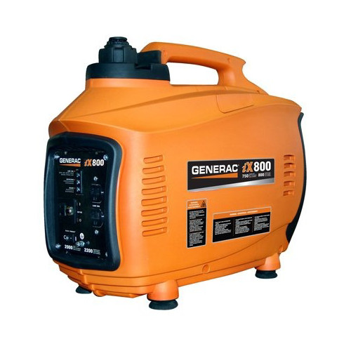 Generac iX800 iX Series 800 Watt Portable Inverter Generator (CARB)