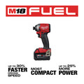 Milwaukee 2998-23 M18 FUEL Brushless Lithium-Ion Cordless 3-Tool Combo Kit (5 Ah) image number 5