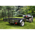 Detail K2 MMT4X6 4 ft. x 6 ft. Multi Purpose Utility Trailer Kits (Black powder-coated) image number 9