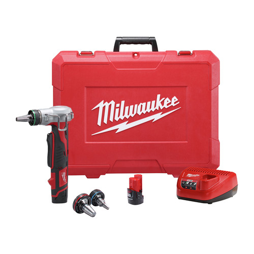 Milwaukee 2432-22 M12 12V Cordless Lithium-Ion ProPEX Expansion Tool Kit