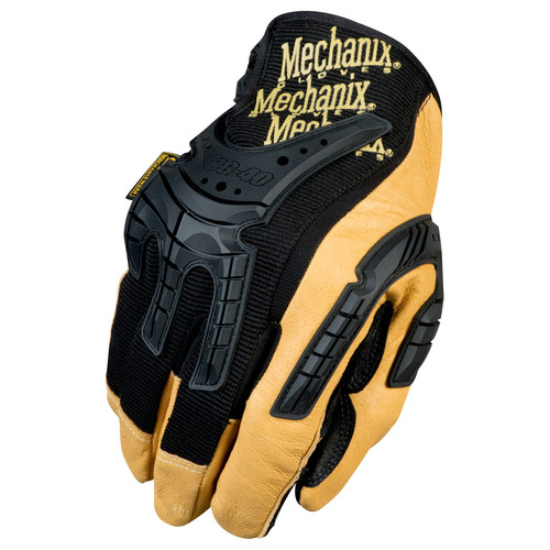 Mechanix Wear CG40-75-010 CG Heavy Duty Gloves - Large, Tan/Black image number 0