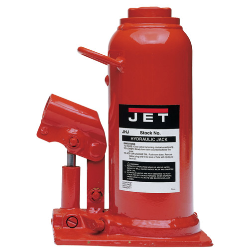 JET JHJ-12-1/2 12-1/2 Ton Heavy-Duty Industrial Bottle Jack