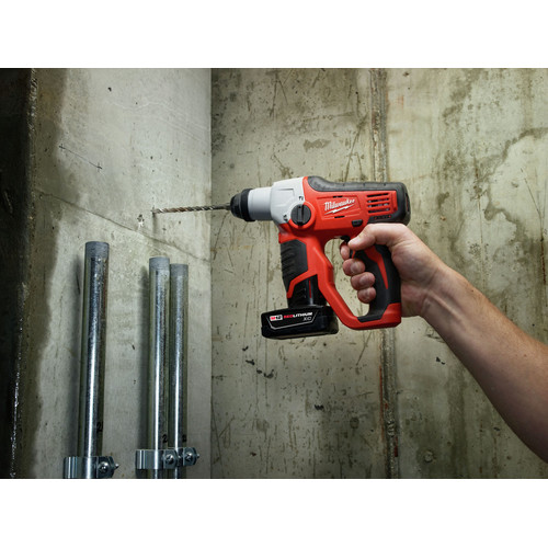 Factory Reconditioned Milwaukee 2412-80 M12 Lithium-Ion 1/2 in. SDS-Plus Rotary Hammer Kit (Tool Only) image number 2