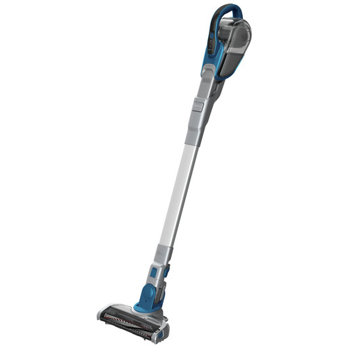 Black & Decker HFEJ415JWMF22 Cordless Lithium-Ion 2-in-1 Floor Extension Stick Vacuum (Deep Ocean Blue)