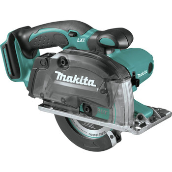 Makita XSC03Z 18V LXT Lithium-Ion Cordless 5-3/8 in. Metal Cutting Saw with Electric Brake and Chip Collector (Tool Only) image number 0