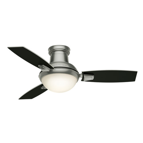 Casablanca 59155 44 in. Verse Satin Nickel Ceiling Fan with Light and Remote image number 6
