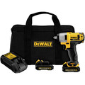 Dewalt DCF813S2 12V MAX Cordless Lithium-Ion 3/8 in. Impact Wrench Kit image number 1