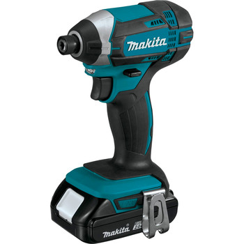 Factory Reconditioned Makita CT225R-R LXT 18V 2.0 Ah Cordless Lithium-Ion Compact Impact Driver and 1/2 in. Drill Driver Combo Kit image number 4