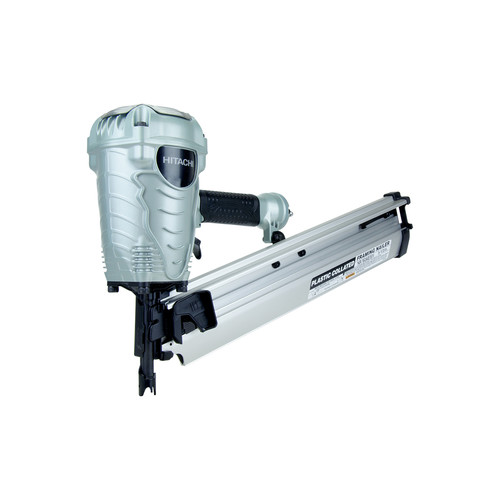 Factory Reconditioned Hitachi NR90AES1 2 in. to 3-1/2 in. Plastic Collated Framing Nailer