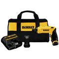 Dewalt DCF680N2 8V MAX Cordless Lithium-Ion Gyroscopic Screwdriver Kit with 2 Compact Batteries