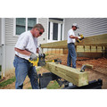 Dewalt DCCS620P1 20V MAX XR 5.0 Ah Brushless Lithium-Ion 12 in. Compact Chainsaw Kit image number 5