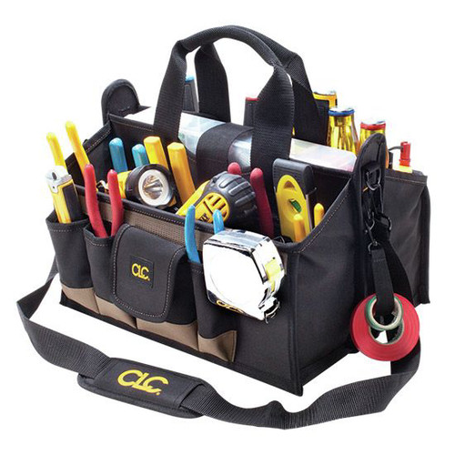 CLC 1529 16-Pocket 16 in. Center Tray Tool Bag