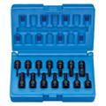 Grey Pneumatic 9298HC 14-Piece 1/4 in. Drive SAE/Metric Hex Driver Impact Socket Set image number 0