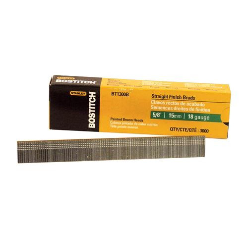 Bostitch BT1300B 18-Gauge 5/8 in. Brad Nails (3,000-Pack)