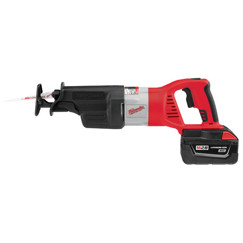 Factory Reconditioned Milwaukee 0719-82 28V Cordless M28 Lithium-Ion Sawzall Reciprocating Saw with Case