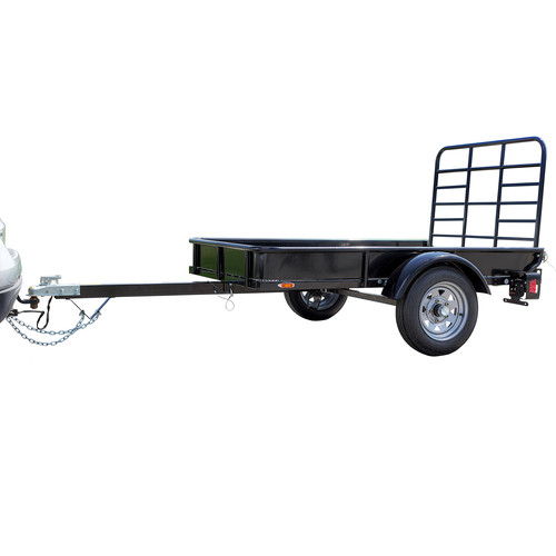 Detail K2 MMT4X6 4 ft. x 6 ft. Multi Purpose Utility Trailer Kits (Black powder-coated) image number 0