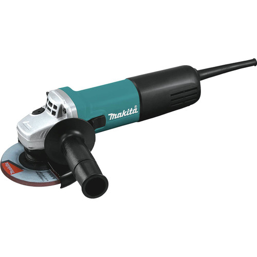 Makita 9557NB 7.5 Amp 4-1/2 in. Slide Switch AC/DC Angle Grinder