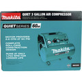 Makita MAC320Q Quiet Series 1-1/2 HP 3 Gallon Oil-Free Hand Carry Air Compressor image number 9