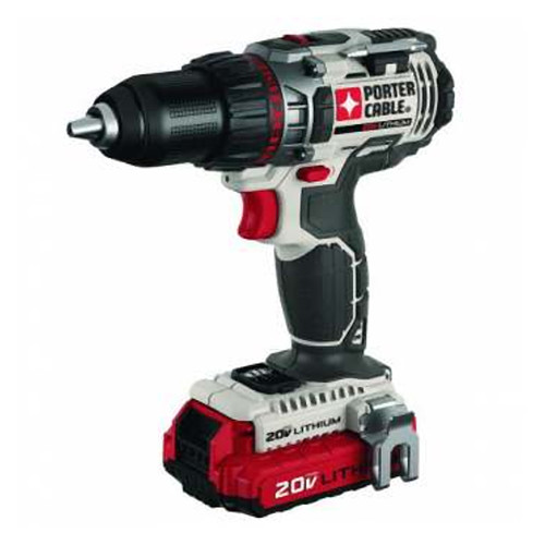 Porter-Cable PCC606LA 20V Max Lithium-Ion 1/2 in. Drill Driver Kit