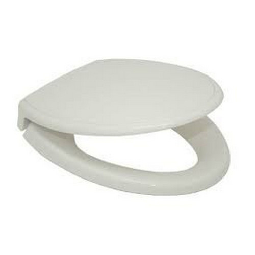 TOTO SS154#11 SoftClose Traditional Elongated Plastic Closed Front Toilet Seat & Cover (Colonial White)