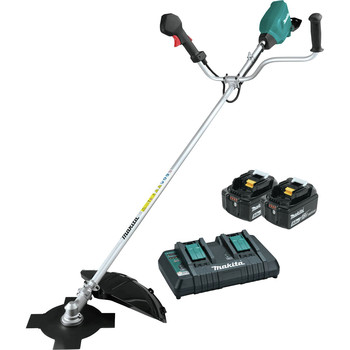 Makita XRU16PT 18V X2 (36V) LXT Brushless Lithium-Ion Cordless Brush Cutter Kit (5 Ah)
