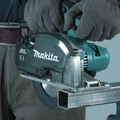 Makita XSC04Z 18V LXT Lithium-Ion Brushless Cordless 5-7/8 in. Metal Cutting Saw with Electric Brake and Chip Collector (Tool Only) image number 8