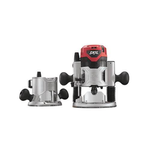 Factory Reconditioned Skil 1830-RT 2-1/4 HP Combo Base Router Kit with Soft Start