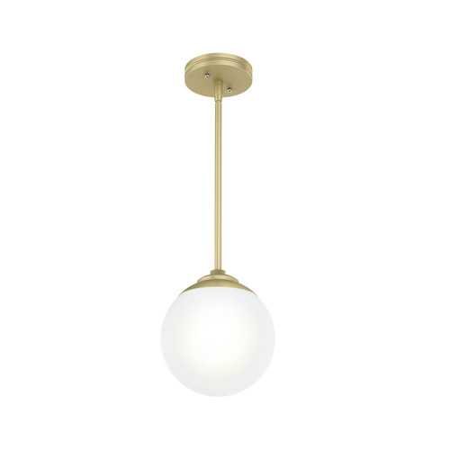 Hunter 19018 Hepburn Painted Modern Brass 1-Light Sputnik Pendant image number 0
