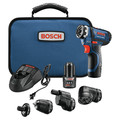 Factory Reconditioned Bosch GSR12V-140FCB22-RT 12V Lithium-Ion Max FlexiClick 5-In-1 1/4 in. Cordless Drill Driver System Kit (2 Ah) image number 0