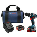 Bosch HDS183-01 18V 4.0 Ah Cordless Lithium-Ion EC Brushless Compact Tough 1/2 in. Hammer Drill Driver Kit
