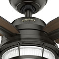 Hunter 59214 52 in. Ocala Noble Bronze Ceiling Fan with Light image number 6