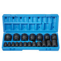 Grey Pneumatic 1719 19-Piece 1/2 in. Drive SAE Master Impact Socket Set image number 1