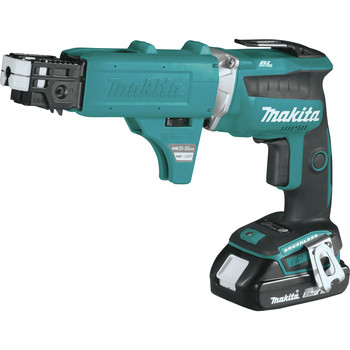 Makita XSF03RX2 18V LXT Lithium-Ion Compact Brushless Cordless 4,000 RPM Drywall Screwdriver Kit with Autofeed Magazine (2 Ah) image number 2
