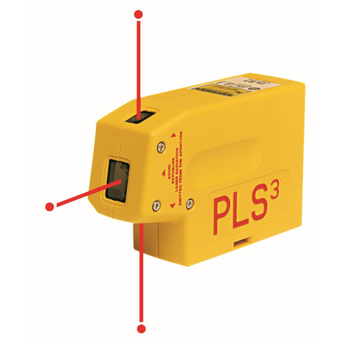 Pacific Laser Systems PLS3 3-Beam Laser Plumb