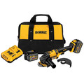 Dewalt DCG414T2 60V MAX Cordless Lithium-Ion 4-1/2 in. - 6 in. Grinder with 2 FLEXVOLT Batteries