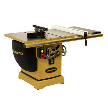Powermatic PM25350WK 2000B Table Saw - 5HP/3PH 230/460V 50 in. RIP with Accu-Fence and Workbench