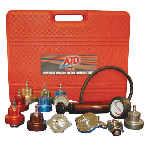 ATD 3300 Universal Cooling System Pressure Test Kit