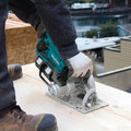 Makita XSR01PT 18V X2 LXT (36V) Brushless Cordless Rear Handle 7-1/4 in. Circular Saw Kit (5.0Ah) image number 5