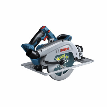Bosch GKS18V-25GCN PROFACTOR 18V Cordless 7-1/4 In. Circular Saw with BiTurbo Brushless Technology and Track Compatibility (Tool Only)