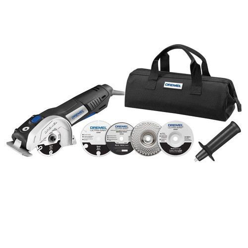 Dremel US40-01 7.5 Amp 4 in. Ultra-Saw Tool Kit