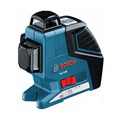 Factory Reconditioned Bosch GLL3-80-RT 360 Degree 3-Plane Leveling and Alignment Line Laser
