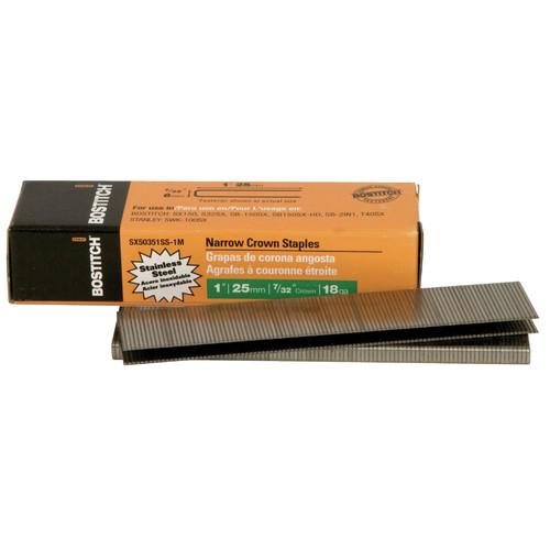 Bostitch stainless steel staples hi vis