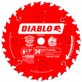 Diablo D0624X 6-1/2 in. 24 Tooth Framing Saw Blade