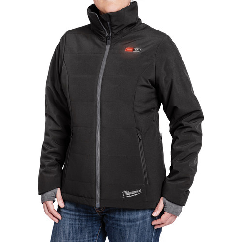 Milwaukee 232B-21L M12 Heated Women's Softshell Jacket Kit - Black, Large image number 0